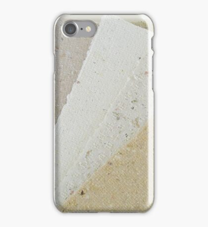 Handmade Recycled Paper iPhone Case/Skin