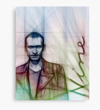 The Ninth Doctor, Doctor Who Canvas Print