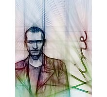 The Ninth Doctor, Doctor Who Chris Eccleston  Photographic Print