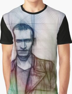 The Ninth Doctor, Doctor Who Chris Eccleston  Graphic T-Shirt