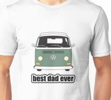 Best Dad Ever Green Early Bay Unisex T-Shirt