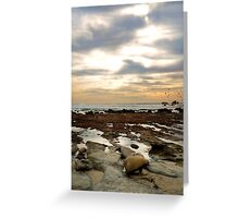 Reflecting Tide Pools Greeting Card