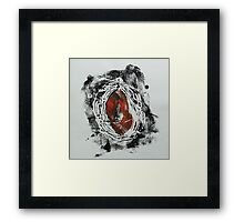 Untitled Abstract Study 52 Framed Print