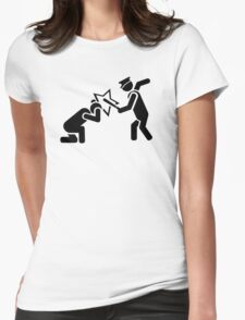 cops Womens Fitted T-Shirt