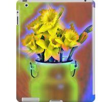 Milk Jug and Daffodils  iPad Case/Skin
