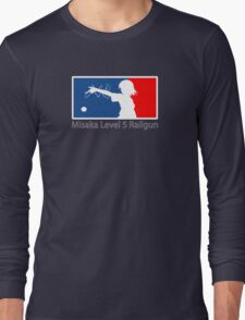MLR ( Misaka Level 5 Railgun) Long Sleeve T-Shirt