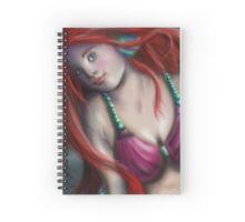 Airbrushed Mermaid  Spiral Notebook