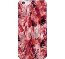 Contrasting Abstract Print iPhone Case/Skin