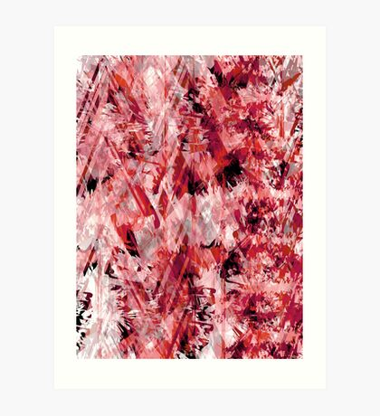 Contrasting Abstract Print Art Print