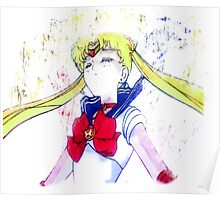 Say goodbye, Sailor Moon. Poster