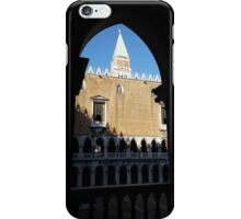 St. Mark's Campanile from Doge's Palace iPhone Case/Skin