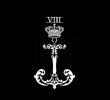 KNEEL TO THE CROWN / BLACK by VIII