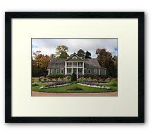 Beautiful flower garden Framed Print