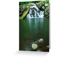 Beautiful Waterfall  Greeting Card