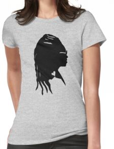 Black Storm Womens Fitted T-Shirt