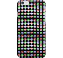 Super Mario mushrooms iPhone Case/Skin