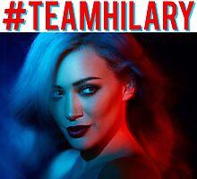 #TeamHilary Photographic Print