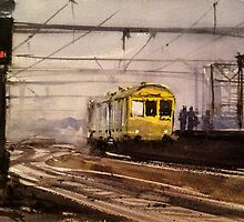 Diesel Loco at Crewe by LordOtter