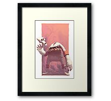 Decap Attack Framed Print