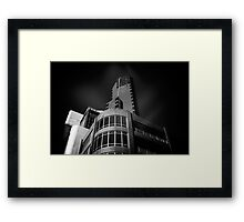 Architecture Mashup Framed Print