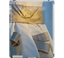 Ribboned Gown - Blue and Gold iPad Case/Skin