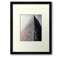 NEW YORK II Framed Print
