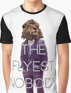 THE FLYEST NOBODY Classic Graphic T-Shirt