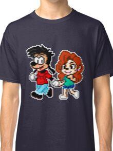 Goofy Movie - Max and Roxanne Running Pixel Art Classic T-Shirt