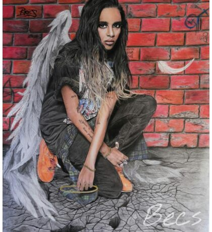 angel haze drawing Sticker