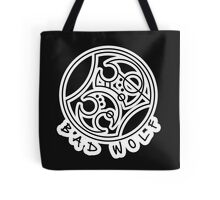 'Bad Wolf' in Gallifreyan  Tote Bag