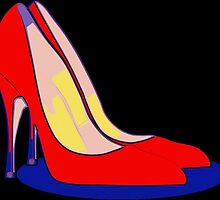 All You Need is Red Pumps by Florian Rodarte