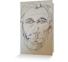 Abraham Lincoln sketch Greeting Card