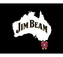 jim beam aussie Photographic Print
