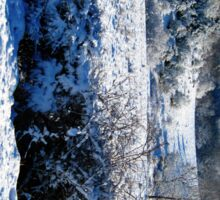 snow bush Sticker