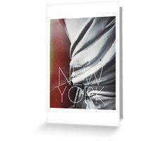 NEW YORK III Greeting Card