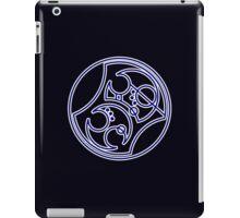 'Bad Wolf' in Gallifreyan - Blue iPad Case/Skin