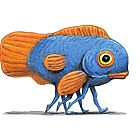 Fish with 6 Legs by Paolo Uberti