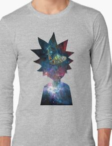 Rick and Morty Space Ship Long Sleeve T-Shirt