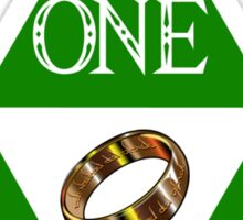 ONE RING TO HYRULE THEM ALL  Sticker