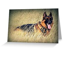 Straw Dog! Greeting Card
