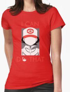 20 Years of Pokemon! #TrainOn Womens Fitted T-Shirt