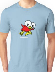 Jumpy Bird Big Unisex T-Shirt
