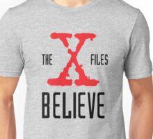 X-Files Believe Unisex T-Shirt