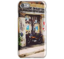 bikes and balloons iPhone Case/Skin