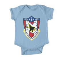 131st Fighter Squadron Emblem ( F-15 ) One Piece - Short Sleeve