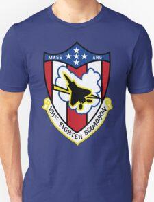 131st Fighter Squadron Emblem ( F-15 ) T-Shirt