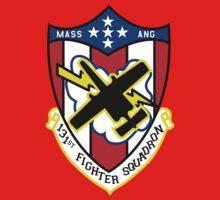 131st Fighter Squadron Emblem ( A-10 ) Kids Clothes