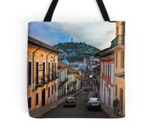 Historic District In Quito, Ecuador Tote Bag