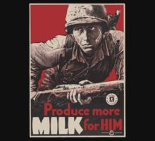 WWII - MORE MILK by PARAJUMPER