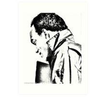 Ken Foree--Pencil Rendering Art Print
